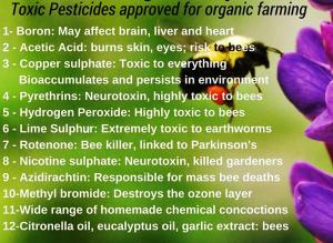 أخطار المبيدات الكيميائيه