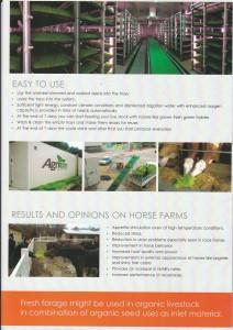 حاويات الإستنبات الخاصة بإنتاج العلف الطازج