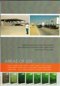 حاويات وغرف الإستنبات الخاصة بإنتاج العلف الطازج
