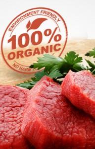 اللحوم العضوية
