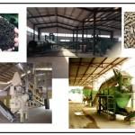 التجهيزات الآلية لتصنيع المخلفات العضوية