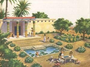 الحدائق الفرعونيه